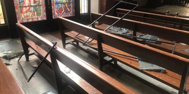BEIRUT LEBANON EXPLOSION;CHURCH
