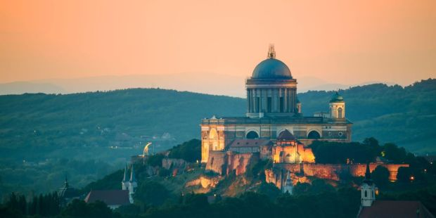 Cathedral of Saint Adalbert of Esztergom, also known as the Basilica of Esztergom