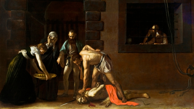 John the Baptist;CARAVAGGIO