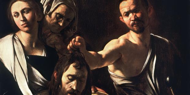 (slideshow) The Beheading of St. John the Baptist in art