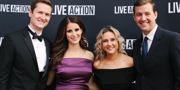 (Slideshow) Three heroes honored at pro-life Live Action gala in Los Angeles