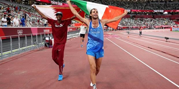 Gianmarco Tamberi AND Mutaz Essa Barshim