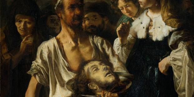 John the Baptist; REMBRANDT