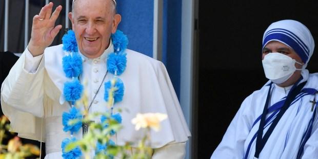(Slideshow) Pope in Slovakia