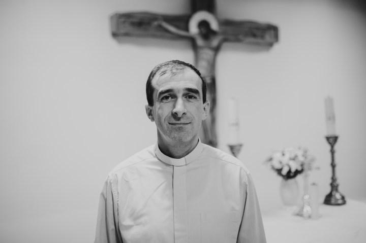 Slovak Priest at Roma Minority Mission
