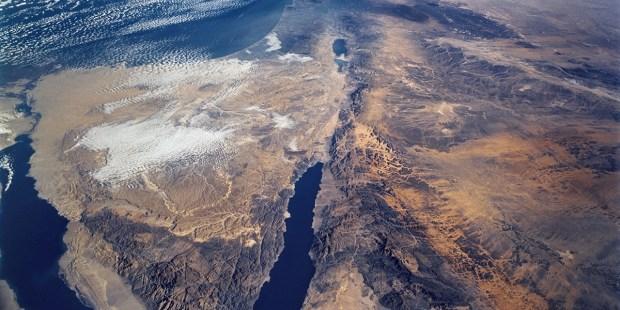 The Sinai Peninsula and the Dead Sea Rift