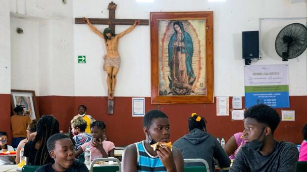 Monterrey MEXICO HAITIANS
