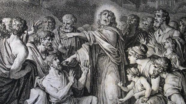 JESUS HEALS DEAF AND STAMMERING