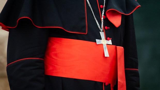 Cardinal in choir dress