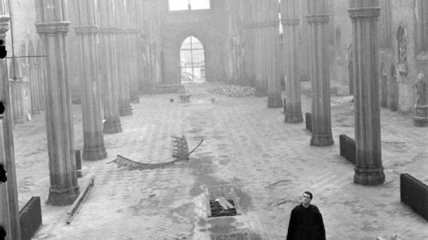Bomb Damage To St Georges Cathedral