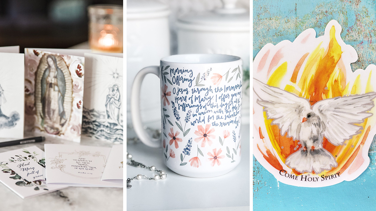 12 Catholic Etsy shops to support as the holidays draw closer