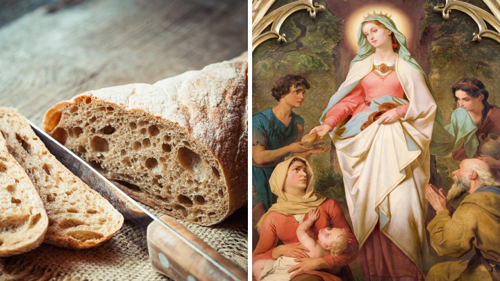 (Slideshow) Trying to improve your eating habits? Look to these patron saints